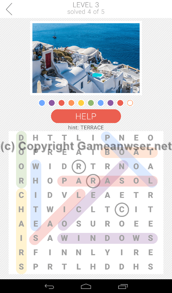 10x10 Word Search Level 3 Answers And Hints Game Answer