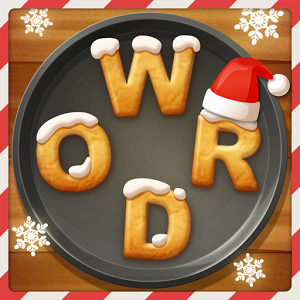 Word cookies caramel pack