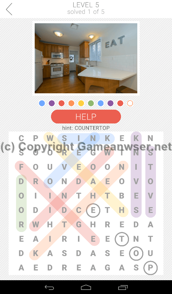 10x10 word search level 5 answers and hints game answer for Furniture 5 letters word whizzle