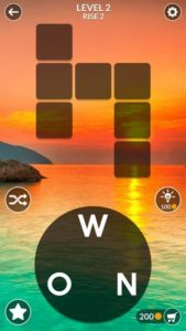 Wordscapes Game Play