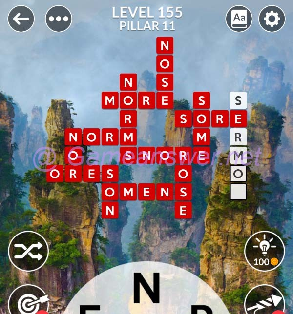 Wordscapes Level 155 Answers Bonus Words Michael