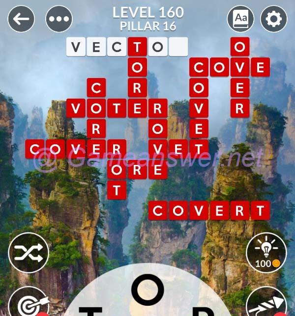 Wordscapes Level 160 Answers Bonus Words Michael
