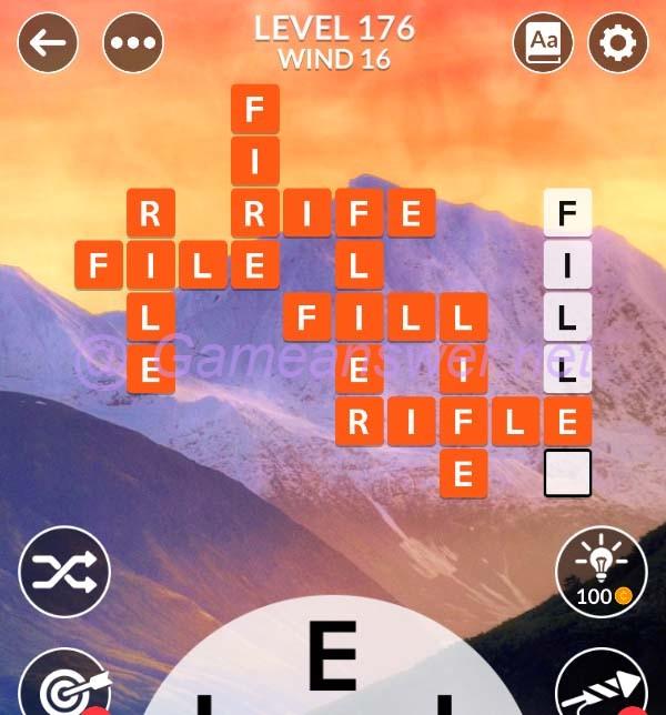 Wordscapes Level 176 Answers Bonus Words Michael