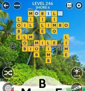 Wordscapes Level 246 Answers [ + Bonus Words ]