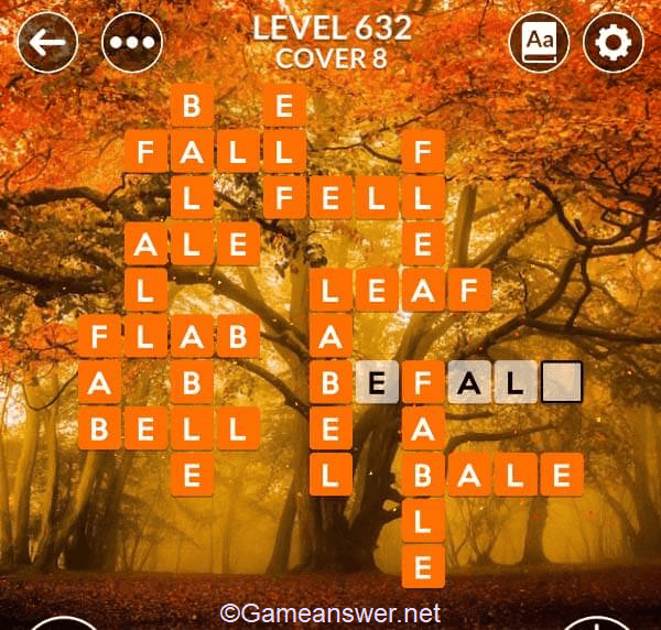 Wordscapes Level 632