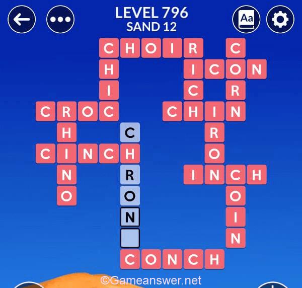 Wordscapes Level 796 Answers  + Bonus Words  - Michael