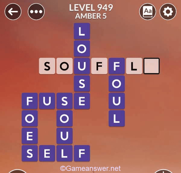 Wordscapes Level 949